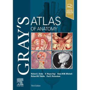 کتاب اطلس آناتومی گری زبان اصلی